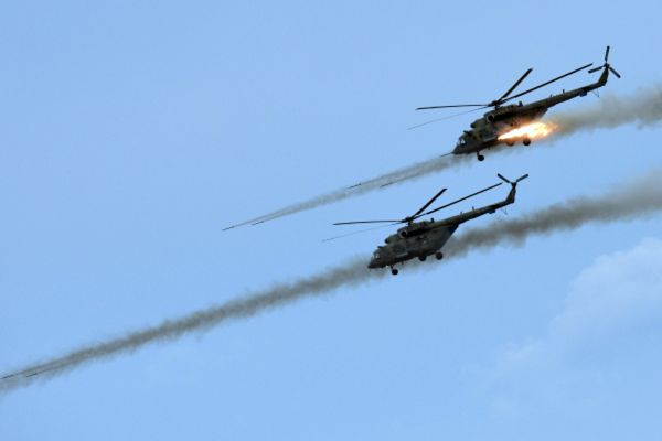 Вертолеты Ми-8МТШ.