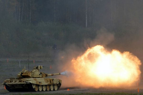 Танк Т-90А.