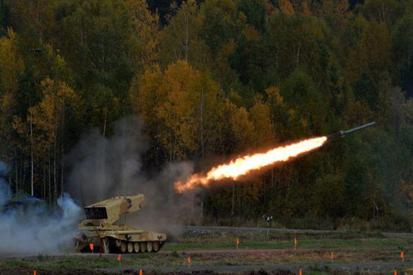 Тяжёлая огневая система ТОС-1А «Солнцепёк».