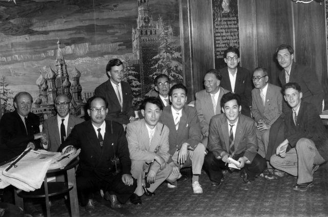 В 1957 году в Японии побывал легендарный НИС «Витязь.