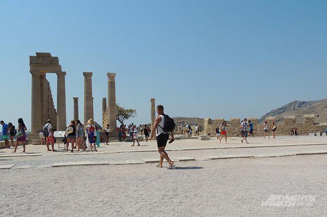 Акрополь Линдоса.