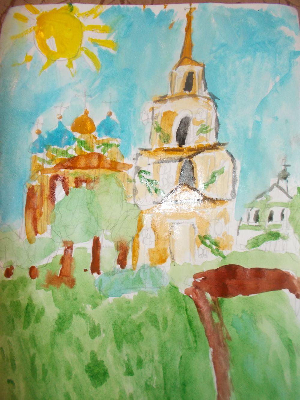 Полина Зайцева - 3 место от «Шоу профессора Бумса» в конкурсе «Город будущего».