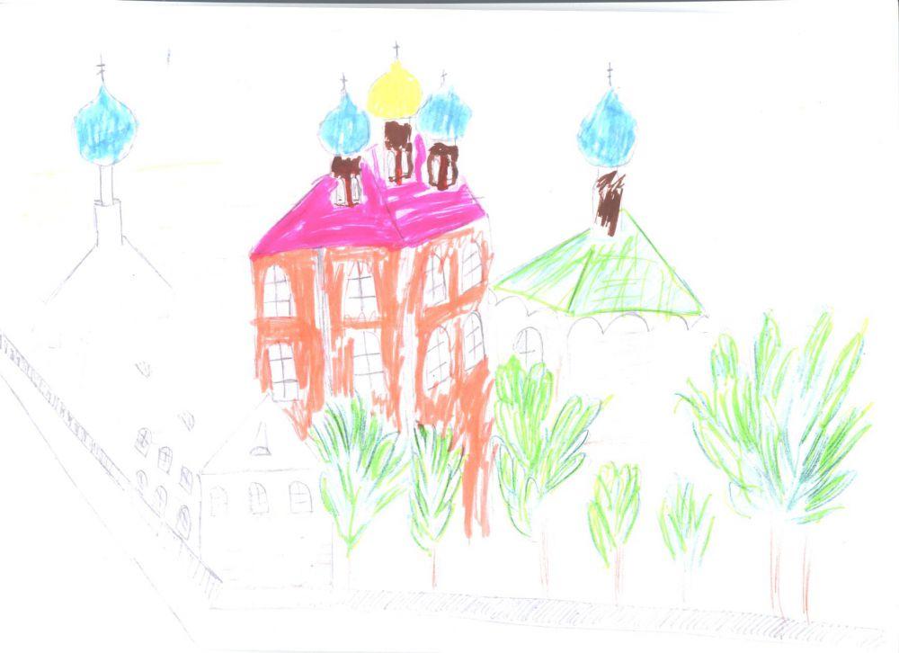 Настя Требой - 1 место от «Трогательного зоопарка» в конкурсе «Город будущего».