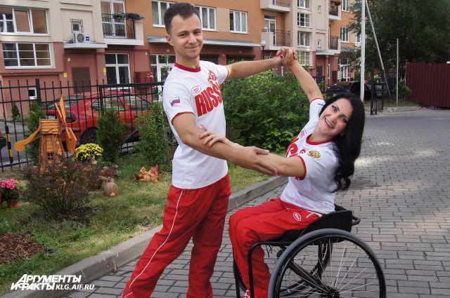 Темперамента у этой пары не отнять - все медали будут наши!