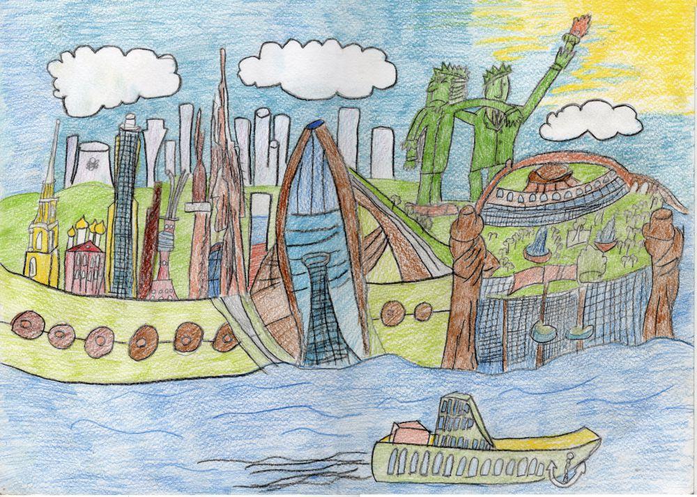 Миша Фролов - 2 место по версии «КофЧай» в конкурсе «Город будущего».