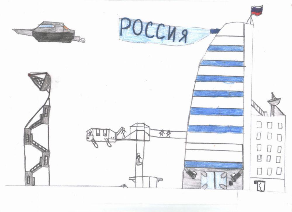 Дима Аккуратов - 4 место по версии базы отдыха «Белые камни» в конкурсе «Город будущего».