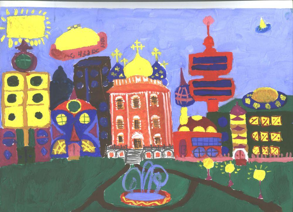 Олеся Лукутина - 2 место по версии базы отдыха «Белые камни» в конкурсе «Город будущего».