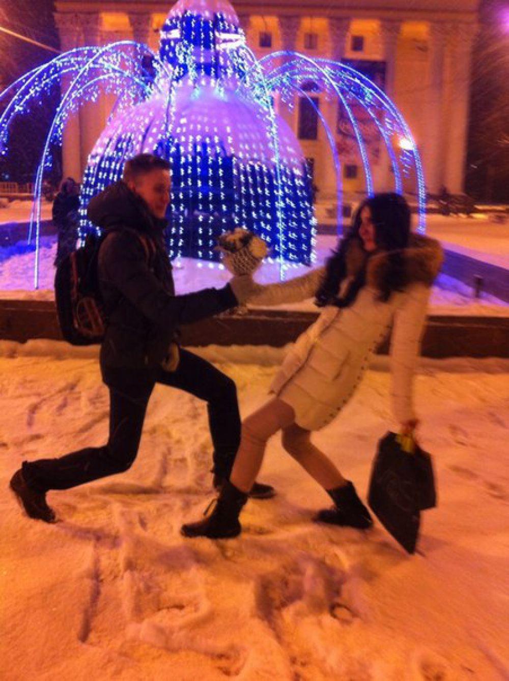 Елена Гарбузова - приз от «КУ-КА-РЯ» в конкурсе «Улыбнись городу».