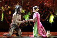 """Сцена из спектакля """"Книга джунглей. Маугли""""."""