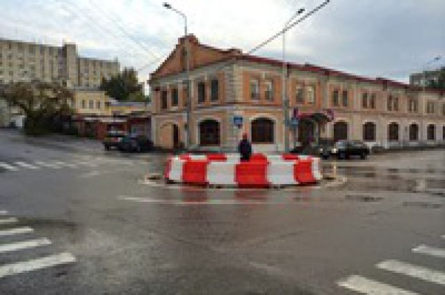 В Перми на перекрестке улиц