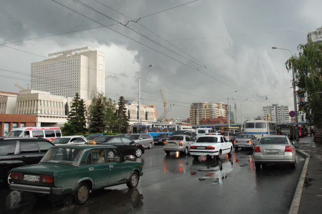 В выходные в Омске будет прохладно.