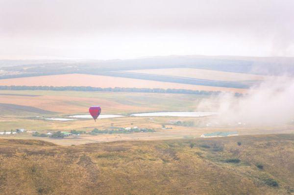 За час воздушный шар пролетает в среднем 10 – 20 километров.