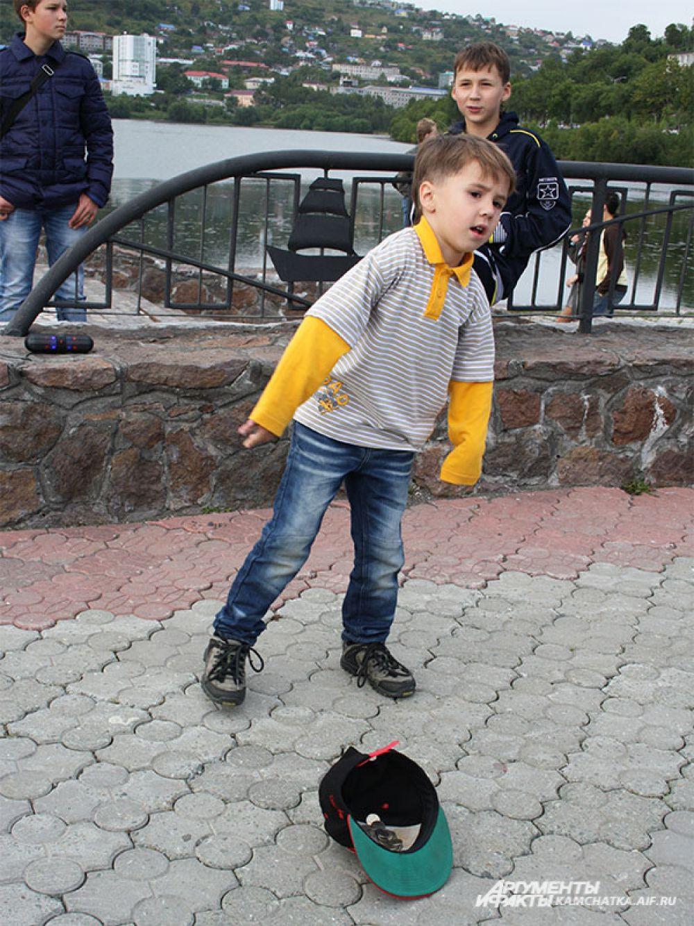 «Камчатский Арбат» в центре Петропавловска.