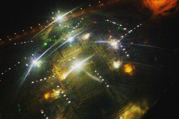 «Ростов-Арена», ночной вид сверху.