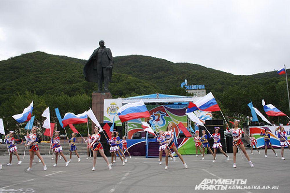 Праздничный концерт, посвященный 275-летию Петропавловска-Камчатского.
