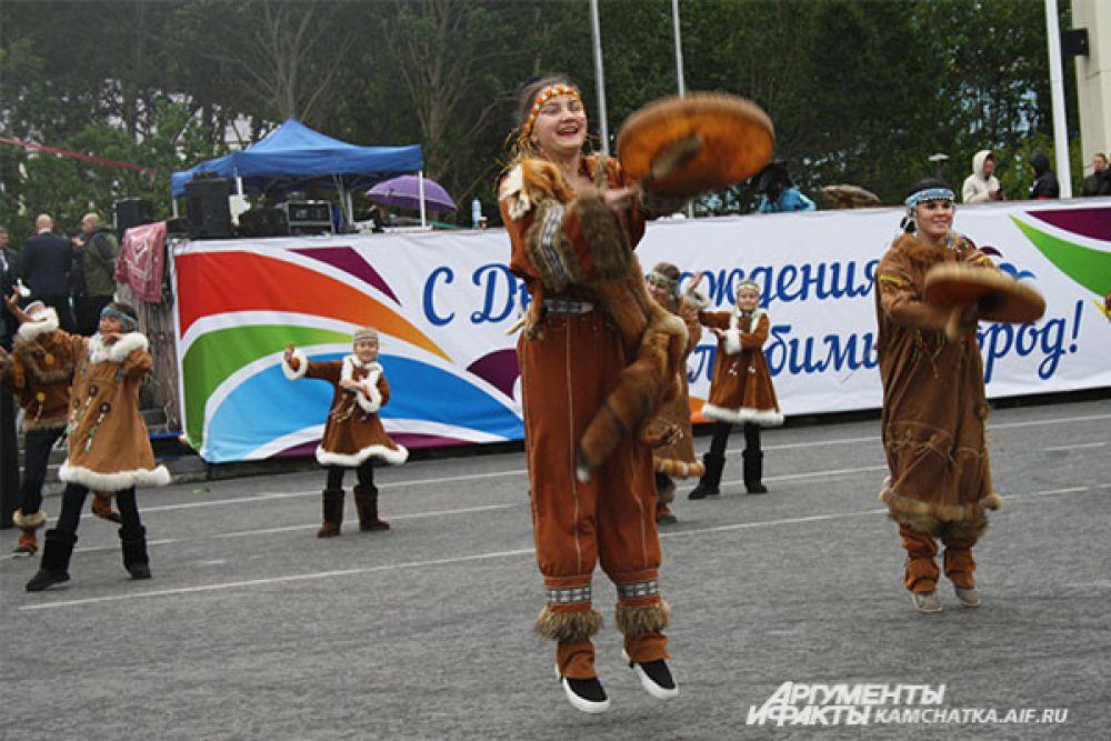 Праздничный концерт, посвященный юбилею краевой столицы.