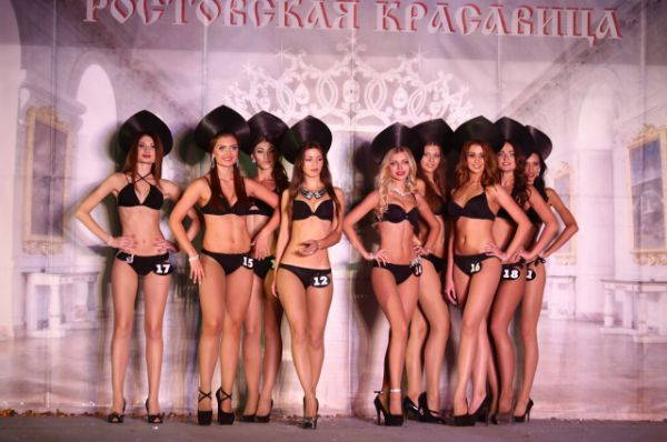 Конкурс красоты - это прежде всего фигура, красивое тело, походка и обаяние...