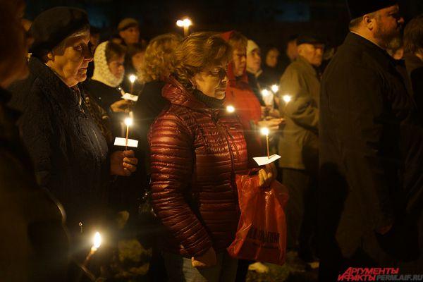 Траурная акция состоялась на мемориальном комплексе, который посвящен трагедии.