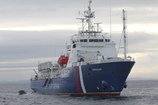 Пограничный патрульный корабль «Командор».