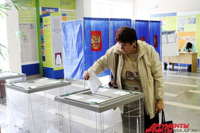 На выборах в Совет депутатов Новосибирска с отрывом меньше 1% лидирует «ЕР»