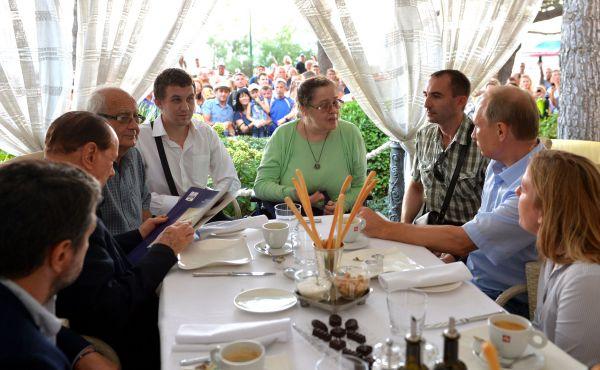 Встреча с представителями региональной общественной организации «Сообщество итальянцев Крыма «Черкио».