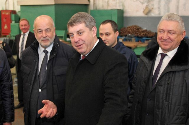 Георгий Абушенко (слева).
