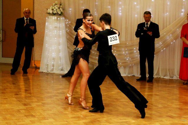 Соревнования по спортивному танцу.