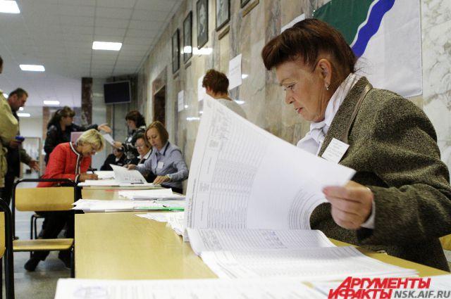 В Заксобрание НСО с отрывом в 20% лидируют Единороссы
