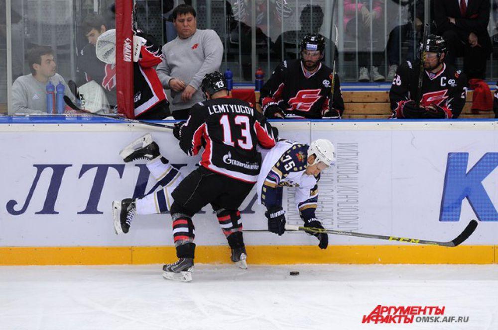 Матч «Авангарда» против  «Сочи» на «Арене Омск»
