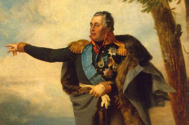 Портрет М. И. Кутузова. Д. Доу, 1829