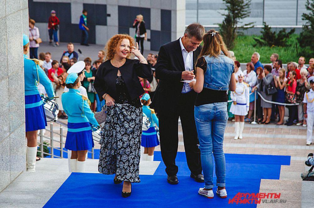 Татьяна Абрамова – любимица приморской публики.