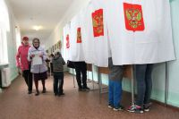На выборы в Красноярском крае пришли около 30% избирателей