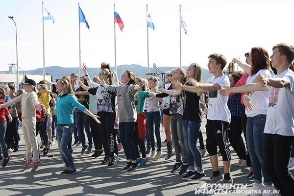Танцевальный марафон «Kamchatka New Life».