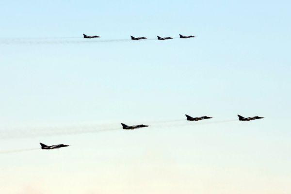 Истребители МиГ-31.