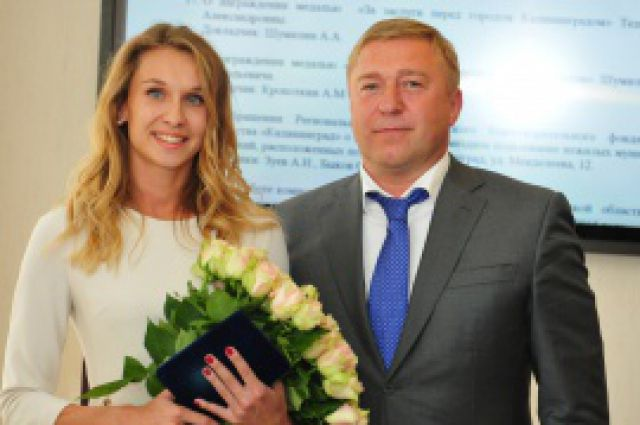 Александр Ярошук и Наталья Ищенко.