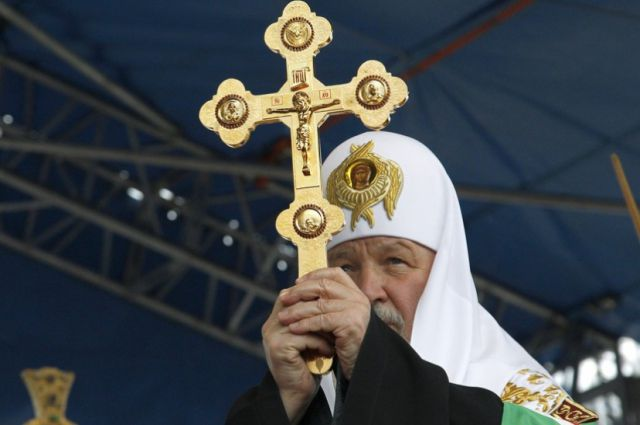 Патриарх Кирилл в Норильске.