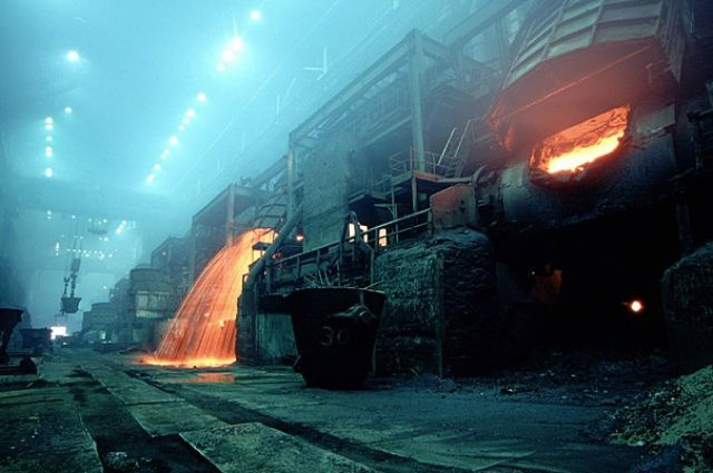 Металлургическое производство на