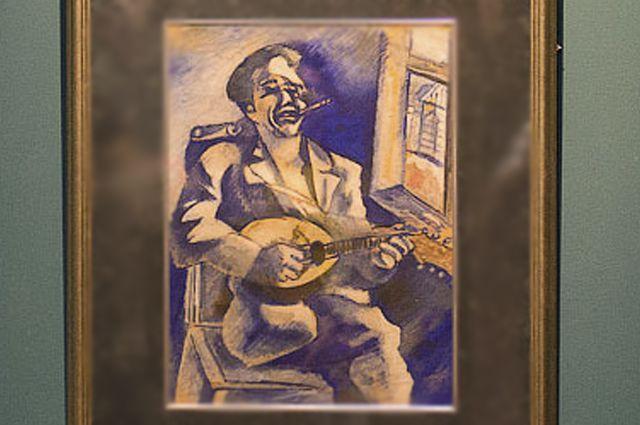 Та самая картина Марка Шагала.