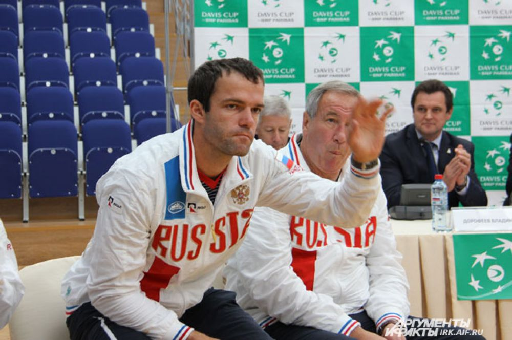 Среди всех российских игроков у Теймураза Габашвили самый высокий рейтинг.