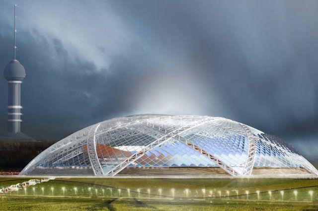 Строительство стадиона в Самаре идет с опережением графика