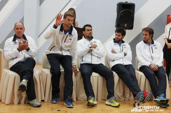 Сборная команда Италии.