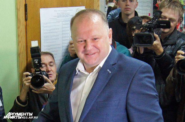 Николай Цуканов остался губернатором на второй срок.