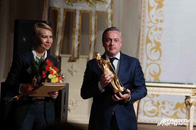 Марина Мишункина и Руслан Новиков.