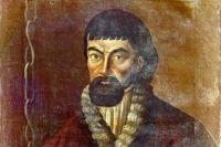 Репродукция портрета Пугачёва, писанная с натуры масляными красками.