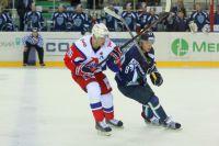 Никита Гусев в матче с ярославским