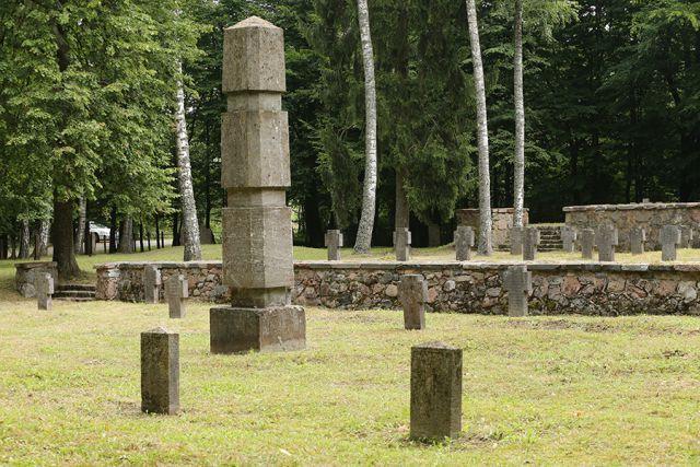 Воинские захоронения Первой мировой.