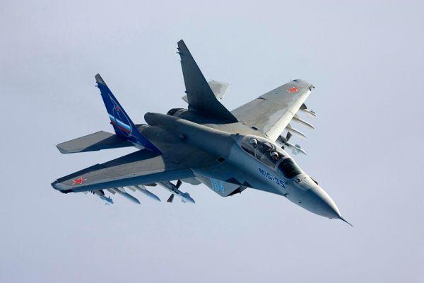 МиГ-35 (по кодификации НАТО: Fulcrum F) — перспективный многофункциональный истребитель российского производства поколения «4++». Предполагается поступление в Воздушно-космические силы России в период 2018-2020 годов.