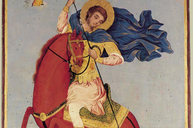 Икона Димитрия Солунского.