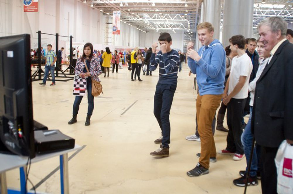 Международная выставка «Спорт. Молодость. Здоровье» в Омске.