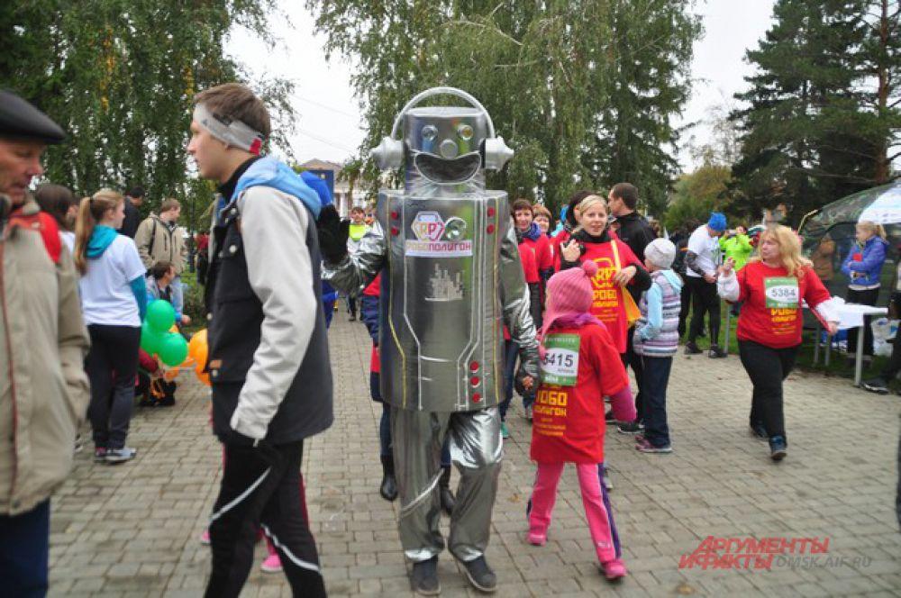 Сибирский международный марафон в Омске.